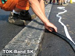 TOK-Band SK är ett bitumen band med förklistrad yta försedd med skyddsplast