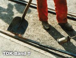 TOK-Band T är en specialversion för användning på räl/järnväg